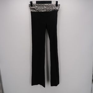 PINK Victoria's Secret Foldover Waist Yoga Pants